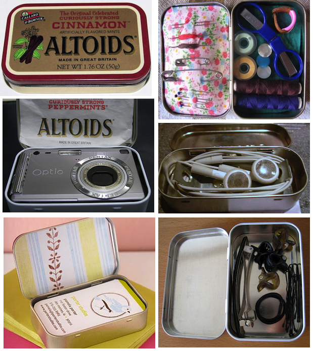 altoid candy tin projects crafts uses
