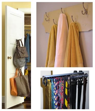 towel rack tie rack