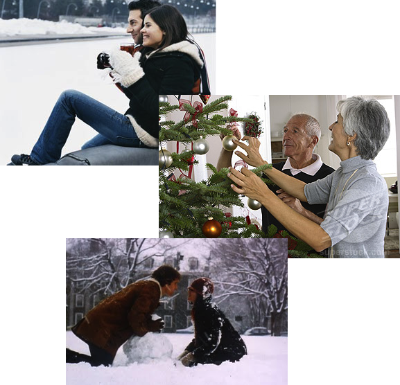 romantic winter fun marriage relationships