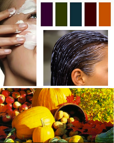 fall beauty tips autumn colors hair skin