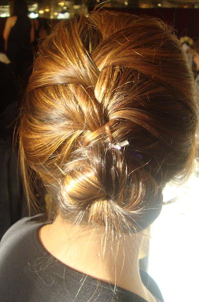 Swell The French Braid Updo Penelopes Oasis Short Hairstyles For Black Women Fulllsitofus