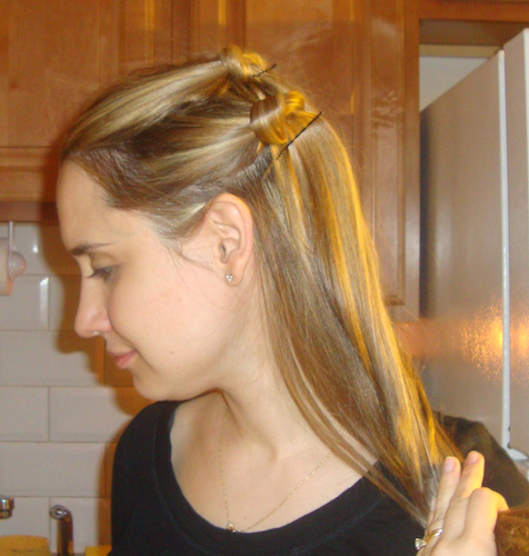 how to do updo hair style