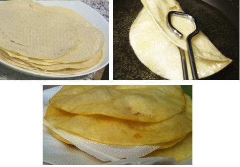 tostadas corn tortillas recipe
