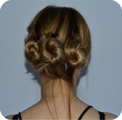 Triple Bun Twist Hair Tutorial Beauty 187 Penelopes Oasis