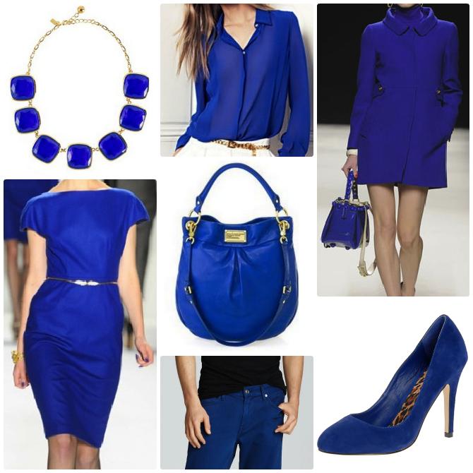Blue Fashion Color Autumn Fall