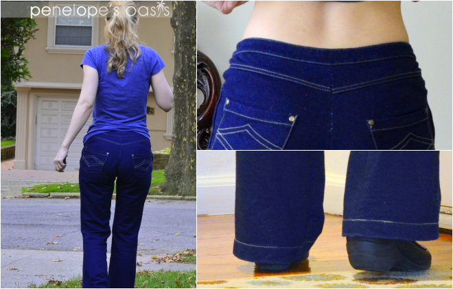 ce03a19fade48 Because they aren't jeans, they are Pajama Jeans! They look like a pair of  flattering, sexy jeans but feel like your ...