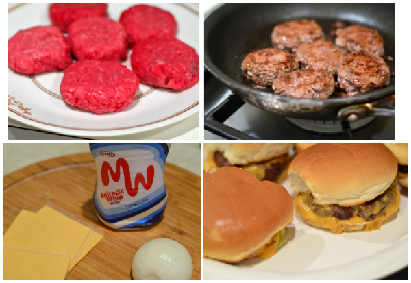 easy burger sliders recipe