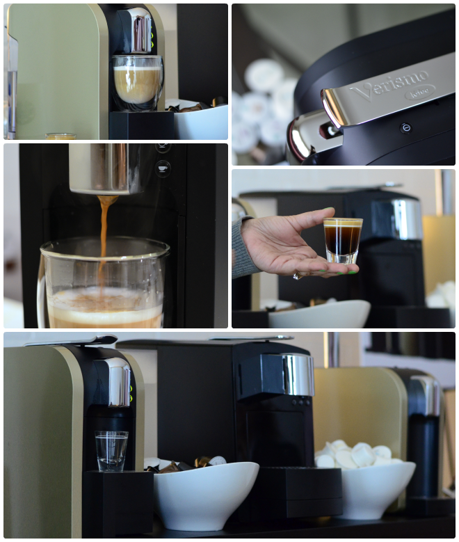 make cappuccino lattes at home verismo