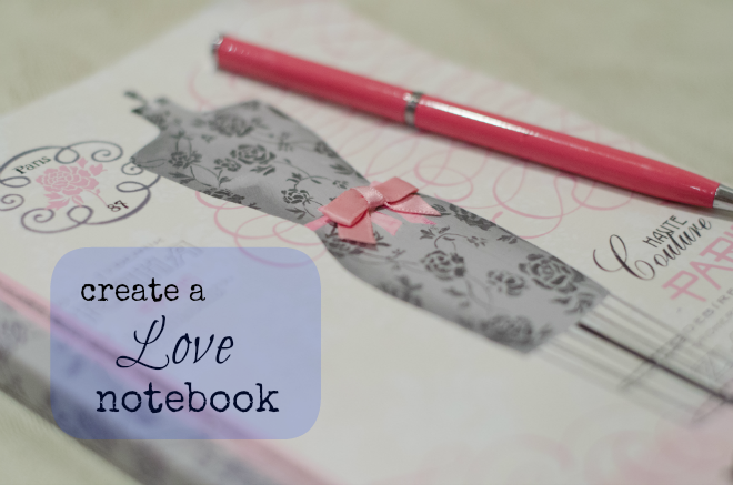Create a happy marriage love notebook