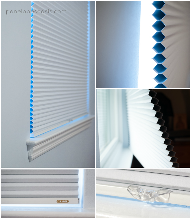 graber crystal pleat blackout shades