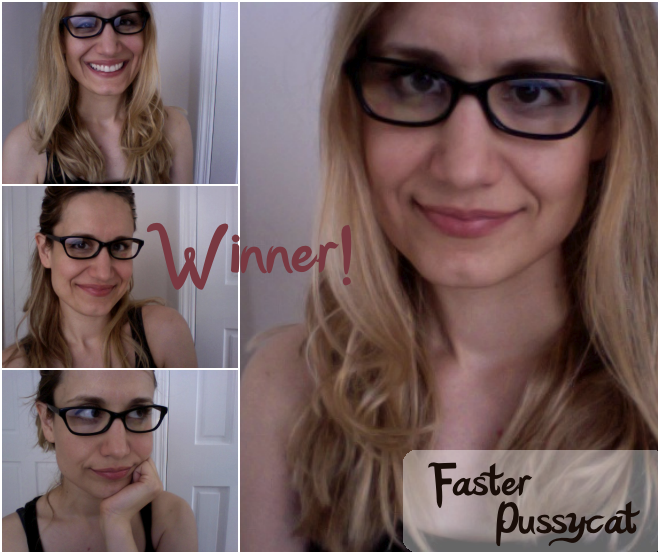 faster pussycat geek chic eyeglasses