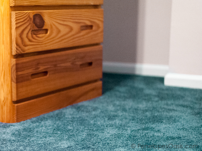 What Wall Color Goes With Seafoam Green Carpet
