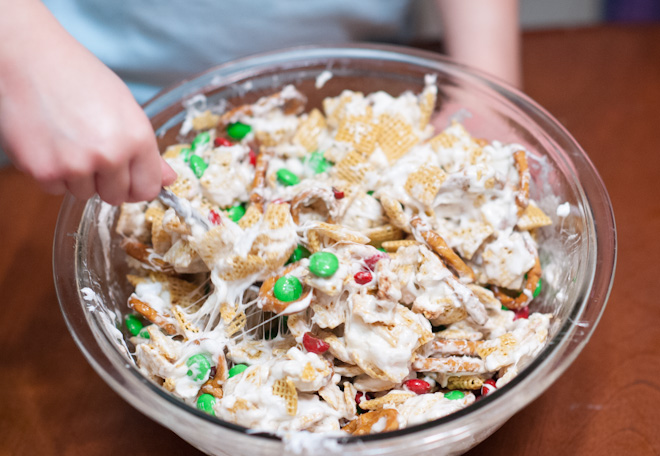 christmas chex party mix-2