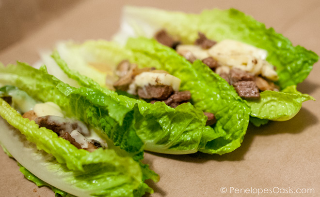 healthy philly cheese steak recipe