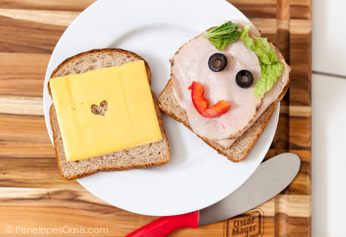 Healthy Fun Kids Sandwiches on oscar mayer deli