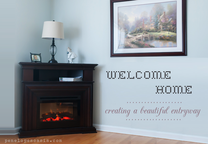 creating a beautiful entryway
