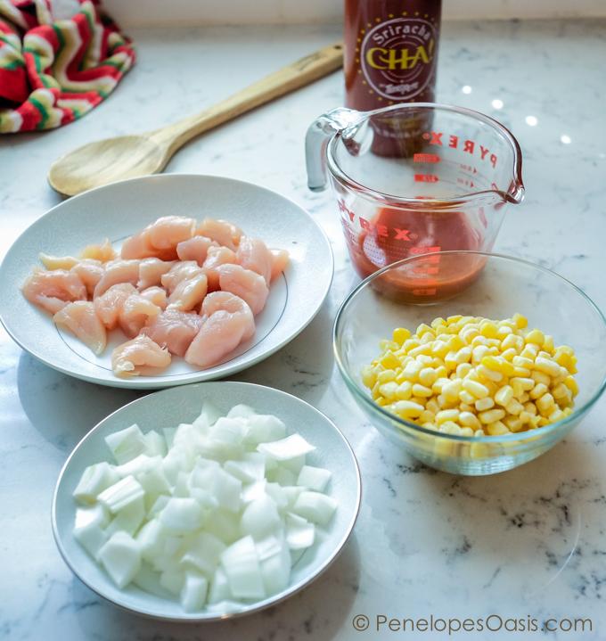 spicy chicken ingredients