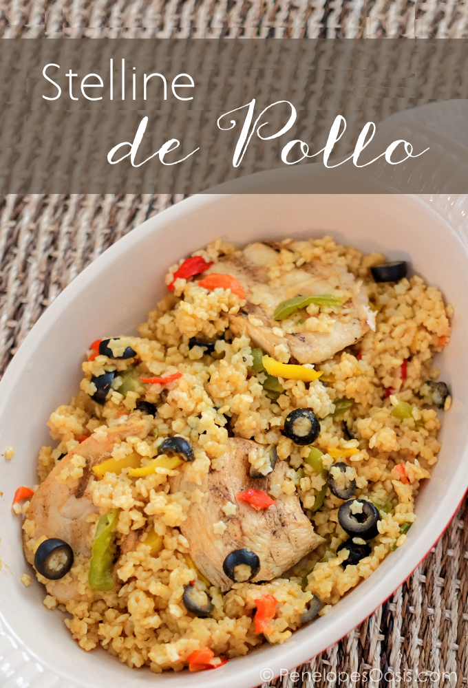 Stelline with chicken stelline de pollo recipe penelopes oasis stelline de pollo dominican food recipe forumfinder Choice Image
