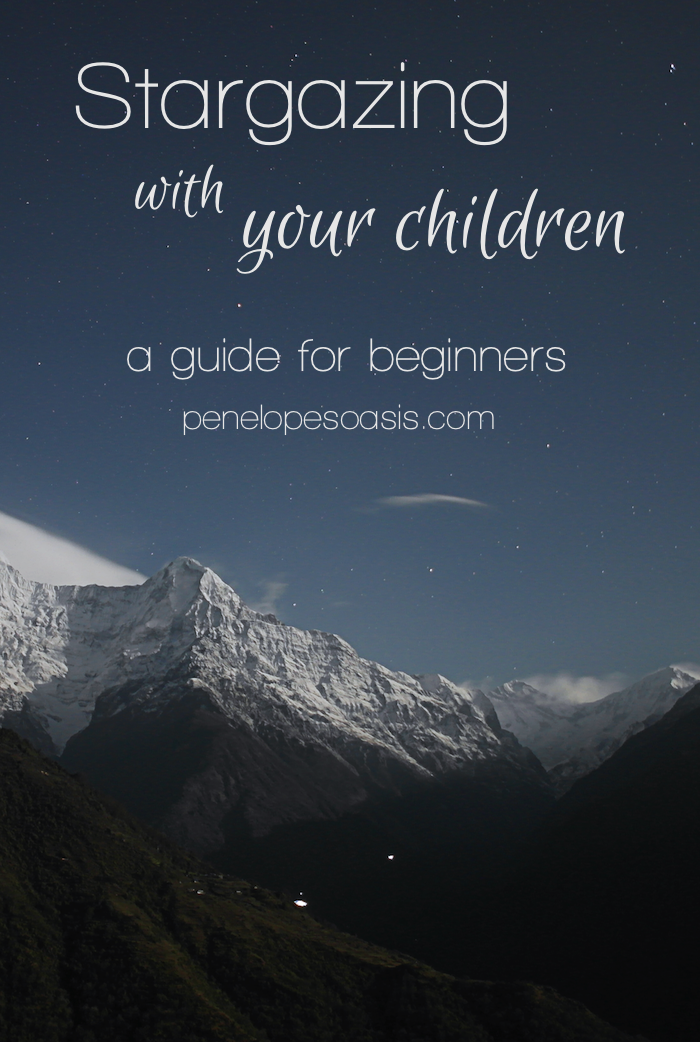 stargazing with young children beginners