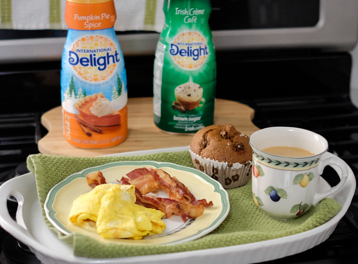 Breakfast with International Delight