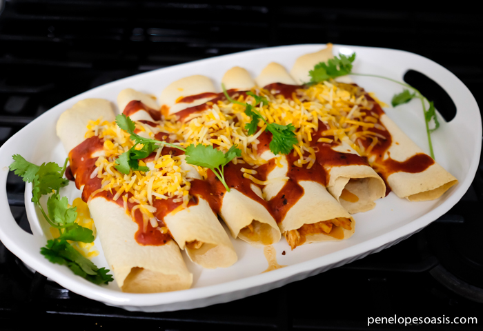 easy chicken enchiladas 5 ingredients