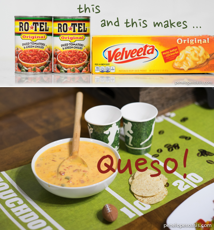 Queso Ingredients