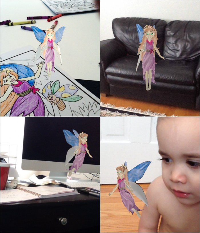 Bring Your Coloring To Life With Augmented Reality From
