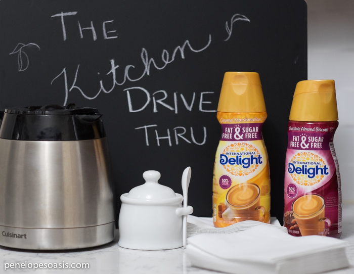 Create Kitchen Drive Thru for Morning Coffee