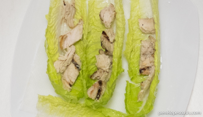 chicken lettuc wraps