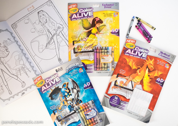 Bring Your Coloring To Life With Augmented Reality From Crayola
