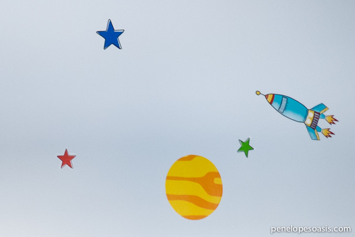 rocket ship decals