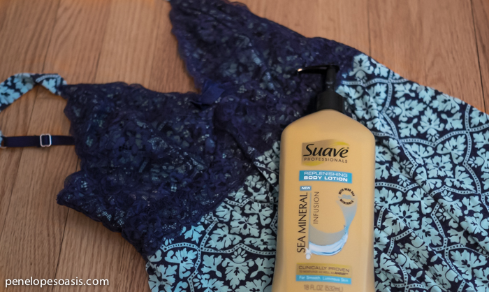 suave mineral body lotion