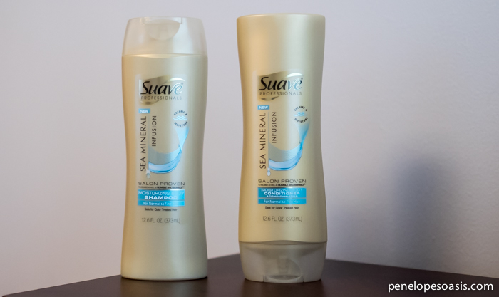 suave mineral shampoo and conditioner