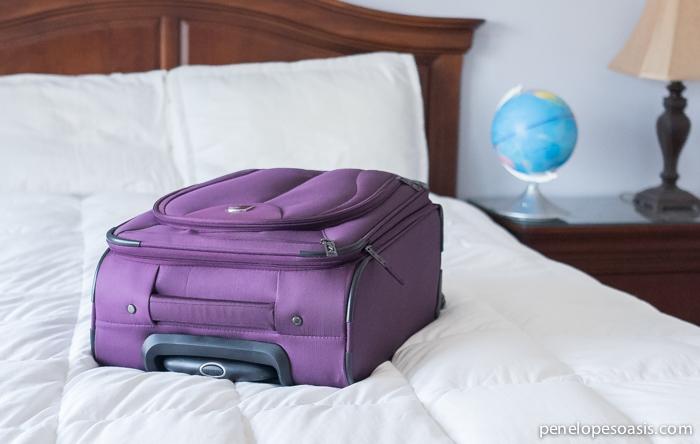 Atlantic Luggage LITE 3 Purple-5