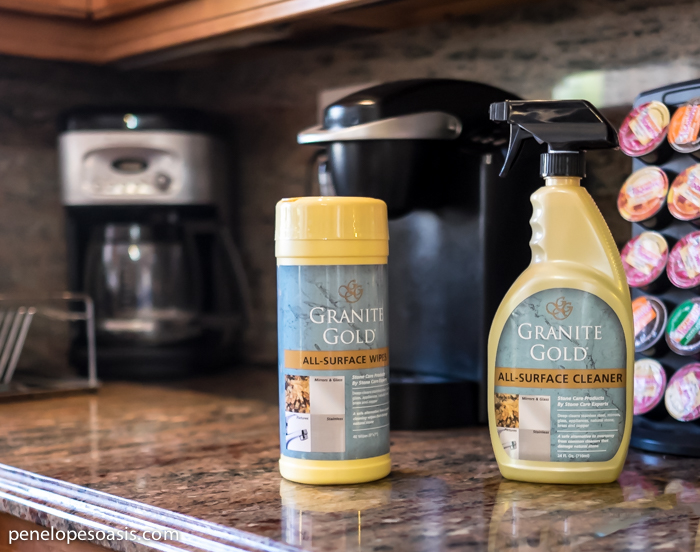 Granite Cleaning Products : Keeping your home improvements beautiful a prize package
