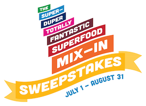 super duper superfood sweeps