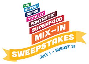 super duper superfood sweeps