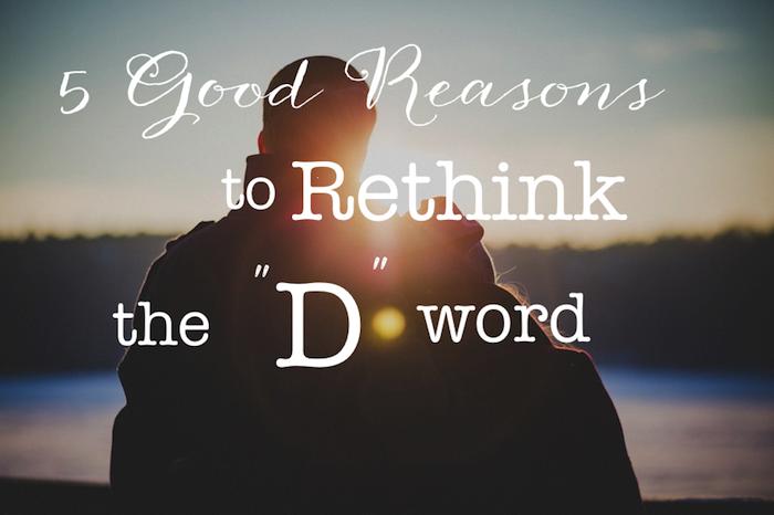 avoid divorce the d word