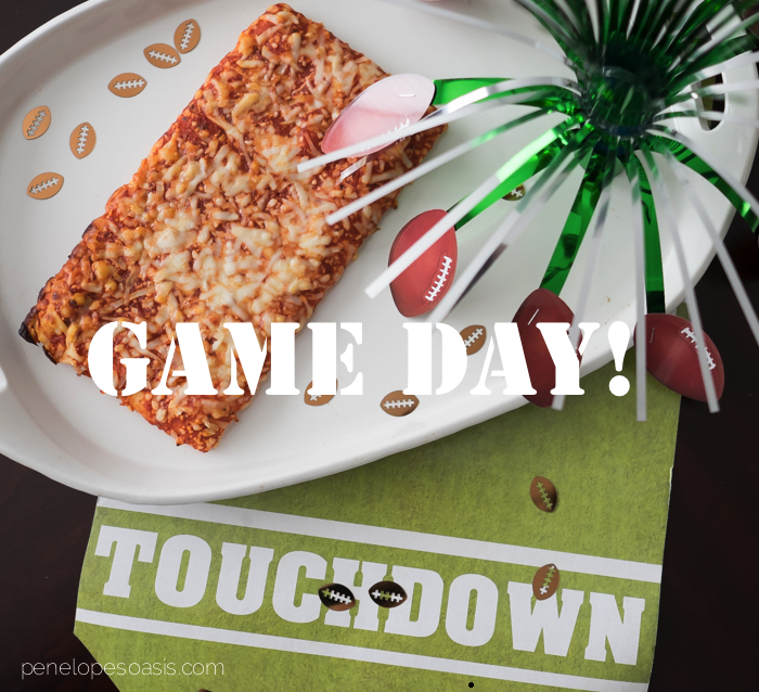 game day pizza party