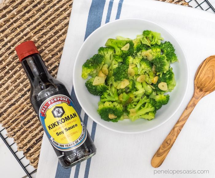 stir fry broccoli recipe