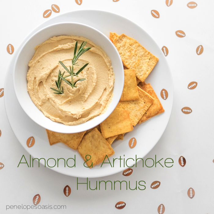 almond and artichoke hummus