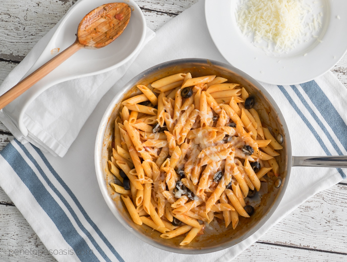 barilla pronto one skillet pasta recipe