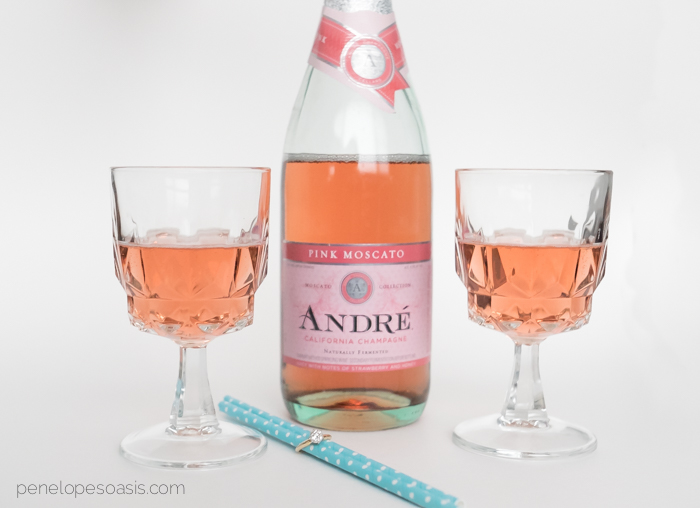 andre champagne pink moscato 1-2
