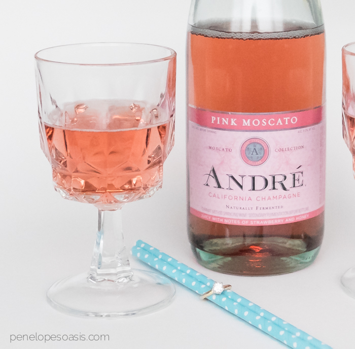 andre champagne pink moscato 1-3