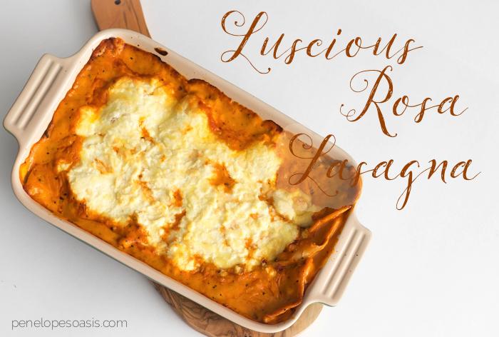 luscious rosa lasagna bertolli recipe