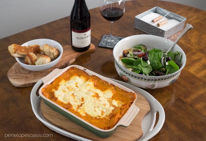 Luscious Rosa Lasagna Recipe Save On Bertolli