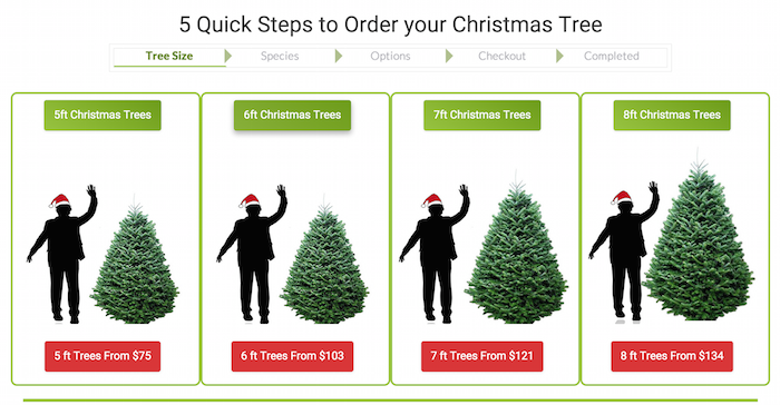 order christmas tree type online - Type Of Christmas Trees
