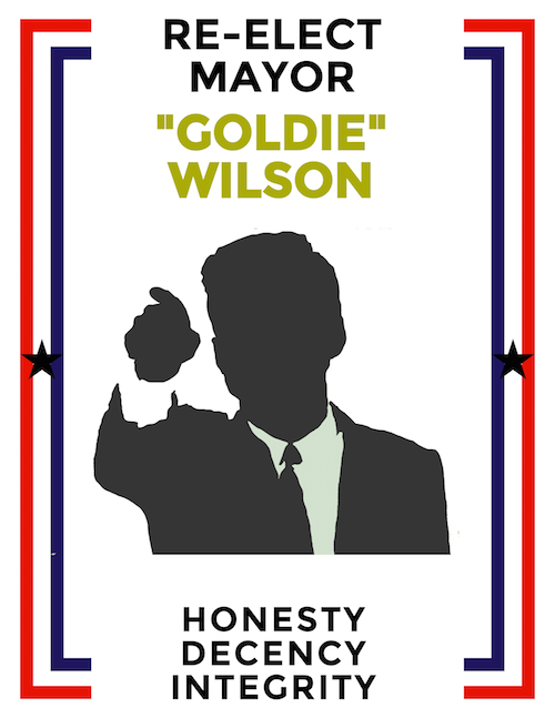 reelect mayor goldie wilson