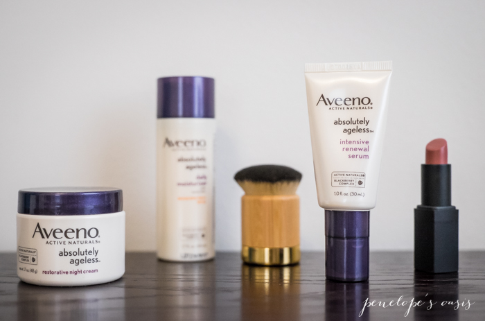 aveeno absolutely ageless serum