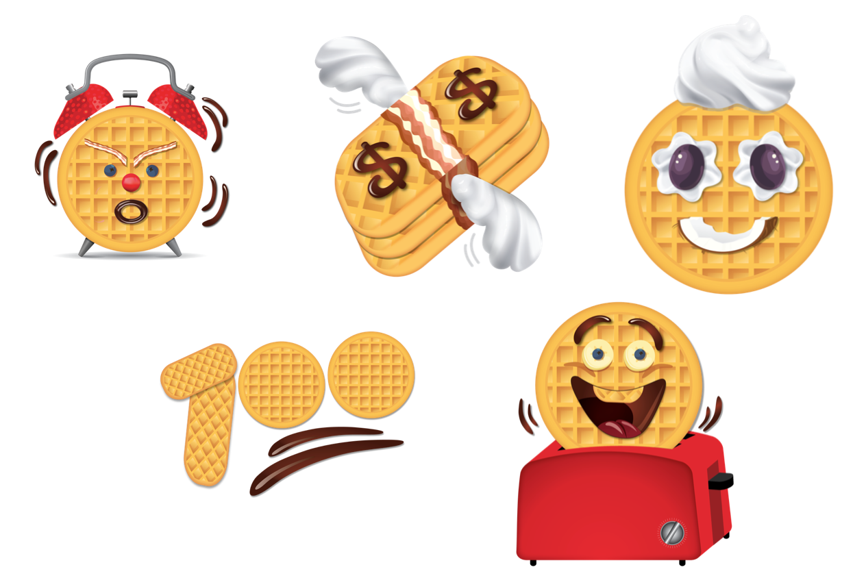 Eggo egoji emojis